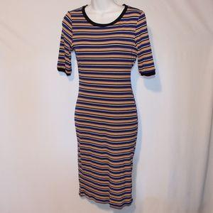 Haute Monde Striped dress large